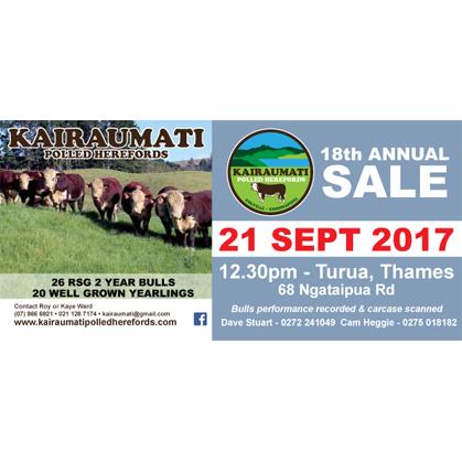 Kairaumati Hereford - 21 September 2017