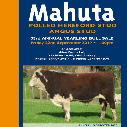 Mahuta Hereford - 22 September 2017