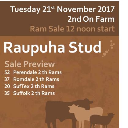 Raupuha Stud - 21 November 2017