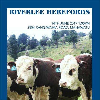 Riverlee Herefords - 14 June 2017