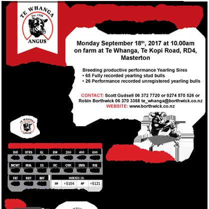 Te Whanga Angus - 18 September 2017