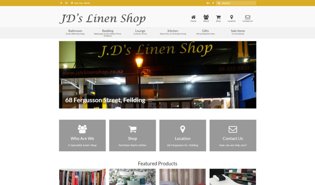 JD's Linen Shop